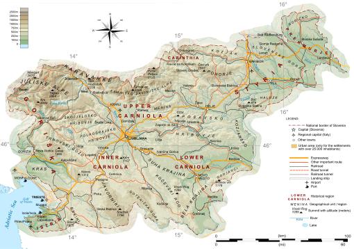 Cartina Slovenia Stradale.Rapporto Di Collaborazione Italia Slovenia Nuovoparlamento